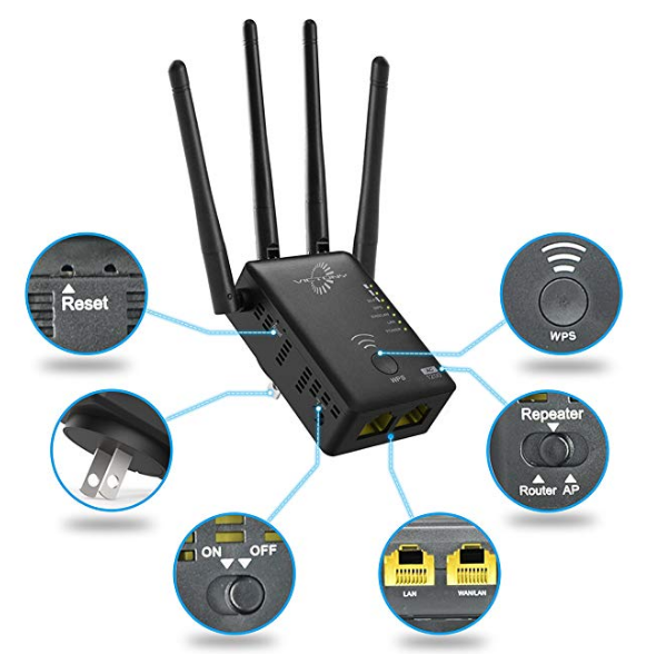 Wavlink Wi-Fi extender setup
