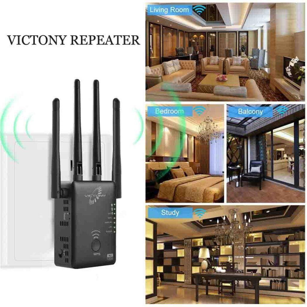 victony repeater setup