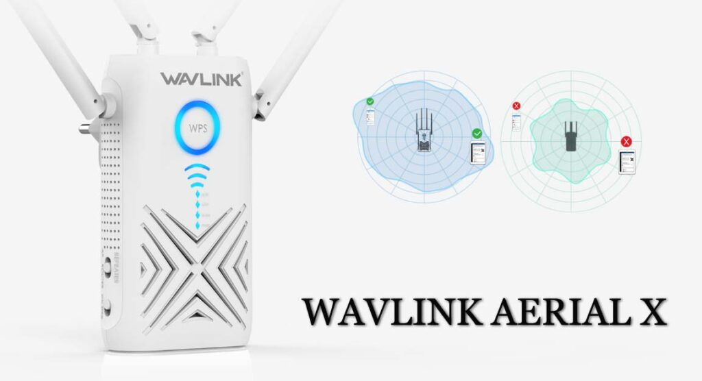 wavlink aerial setup