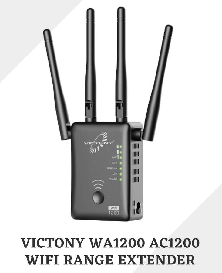 Victony WA1200 extender setup